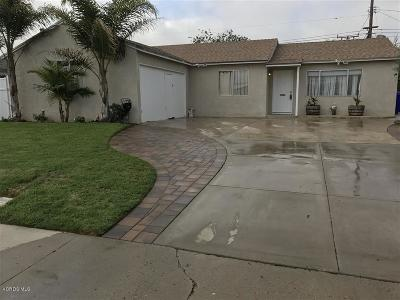 Port Hueneme Single Family Home Active Under Contract: 535 Bard Road