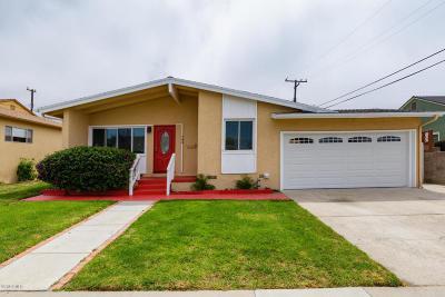 Ventura Single Family Home For Sale: 784 Arbor Avenue
