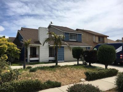 Oxnard Single Family Home For Sale: 2110 Churchill Drive