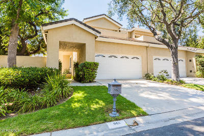 Westlake Village Single Family Home For Sale: 961 Misty Canyon Avenue