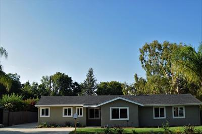 Thousand Oaks Single Family Home For Sale: 1452 Calle Madreselva
