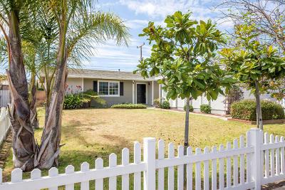 Oxnard Single Family Home Active Under Contract: 1330 Camellia Street