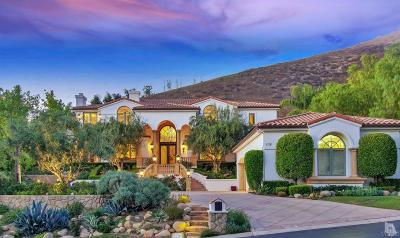 Westlake Village Single Family Home For Sale: 1118 Country Valley Road