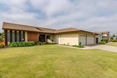 Camarillo Single Family Home For Sale: 2590 Dunnigan Street