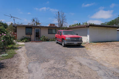 Oxnard Single Family Home For Sale: 334 Lemar Avenue