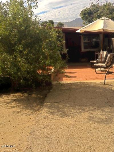 Santa Paula Single Family Home For Sale: 134 W Main Street