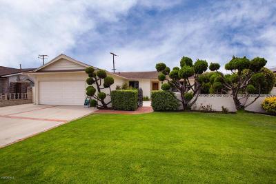Oxnard Single Family Home For Sale: 214 W Bard Road