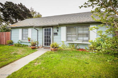 Oxnard Single Family Home For Sale: 112 W Date Street