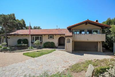 Santa Barbara Single Family Home For Sale: 4827 Ogram Road