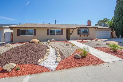 Newbury Park Single Family Home For Sale: 3132 Alice Drive