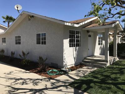 Ventura Multi Family Home Active Under Contract: 11363 Aster Street