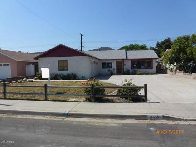 Santa Paula Single Family Home For Sale: 643 W Santa Barbara Street