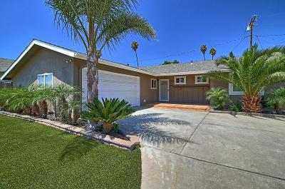 Ventura Single Family Home Active Under Contract: 8725 Fairford Street