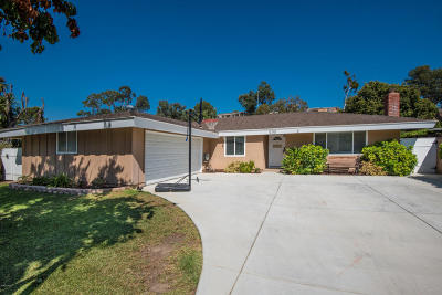 Newbury Park Single Family Home For Sale: 232 Maynard