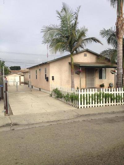 Oxnard Multi Family Home For Sale: 461 Garfield Avenue