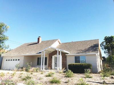 Ventura Single Family Home For Sale: 304 Tulane Avenue