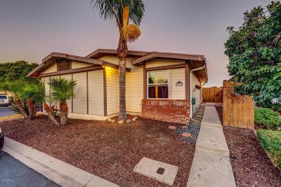 Ventura Single Family Home For Sale: 1025 Cachuma Avenue #56