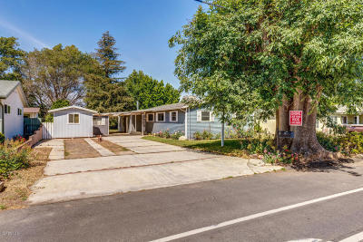 Somis Single Family Home For Sale: 4705 North Street