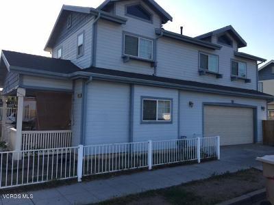 Fillmore Single Family Home For Sale: 903 Blaine Avenue