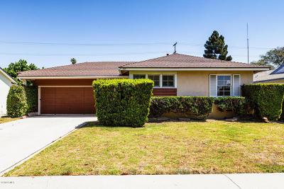 Ventura Single Family Home For Sale: 3007 Porter Lane