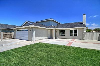 Oxnard Single Family Home For Sale: 5000 Squires Drive
