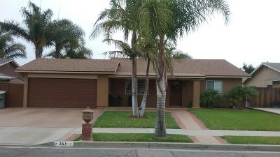 Oxnard Single Family Home Active Under Contract: 251 W Collins Street