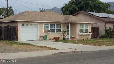 Santa Paula Single Family Home Active Under Contract