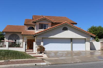 Simi Valley Single Family Home For Sale: 616 Azure Hills Drive