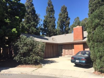 Camarillo Single Family Home For Sale: 496 Madreselva Court