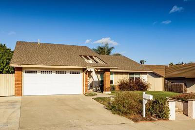 Camarillo Single Family Home Active Under Contract: 2258 Via Leal