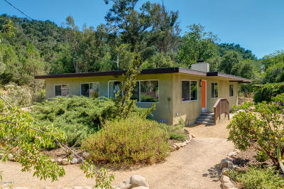 Ojai Single Family Home For Sale: 4896 Reeves Road