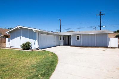 Santa Paula Single Family Home For Sale: 587 Center Lane