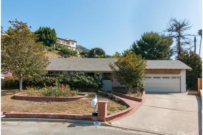 Camarillo Single Family Home For Sale: 186 Maria Lane