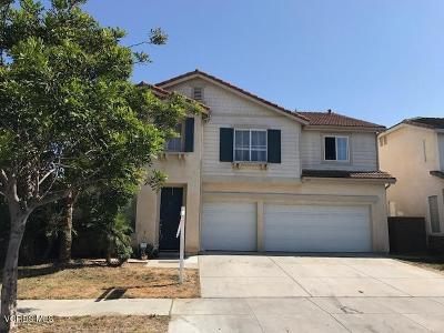 Oxnard Single Family Home For Sale: 240 Irwin Way