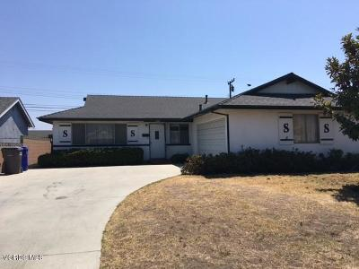 Port Hueneme Single Family Home For Sale: 1726 7th Place