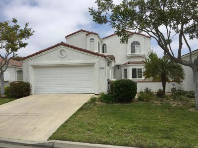 Oxnard Single Family Home For Sale: 2242 Bermuda Dunes Place