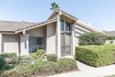 Ventura Single Family Home For Sale: 1457 Zion Way