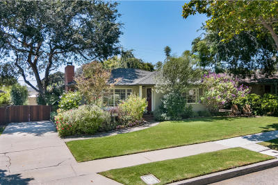 Ventura Single Family Home Active Under Contract: 227 Palomares Avenue