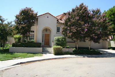 Santa Paula Single Family Home For Sale: 256 Via Del Prado