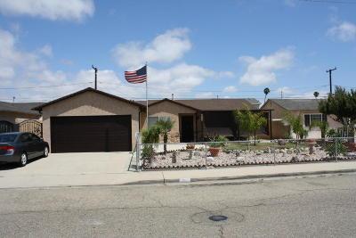 Oxnard Single Family Home For Sale: 3050 S M Street