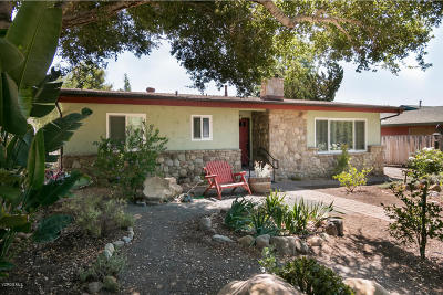 Ojai Single Family Home For Sale: 750 S Rice Road