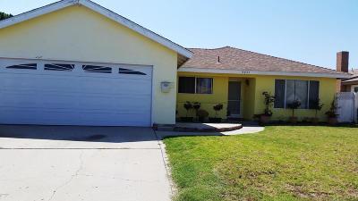 Oxnard Single Family Home Active Under Contract: 4721 Syracuse Drive