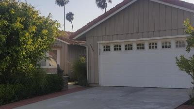 Ventura County Single Family Home Active Under Contract: 2849 Sailor Avenue