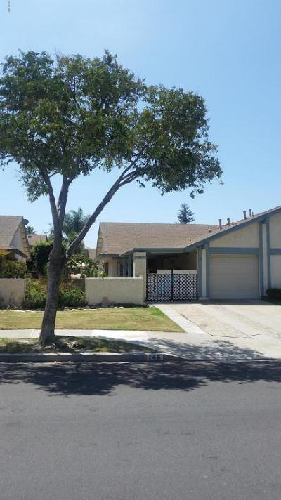 Camarillo Single Family Home For Sale: 146 Ripley Street