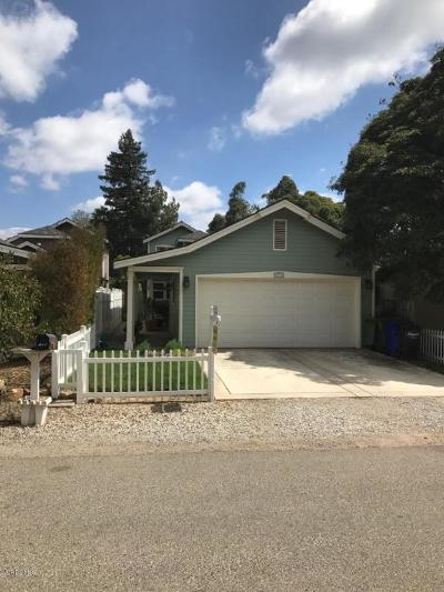 Ventura County Single Family Home For Sale: 176 S Arnaz Street