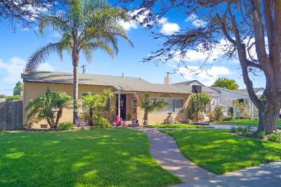 Oxnard Single Family Home For Sale: 651 Deodar Avenue