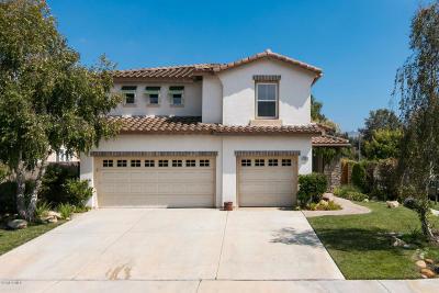 Camarillo Single Family Home Active Under Contract: 1700 San Vito Lane
