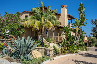 Santa Barbara Single Family Home For Sale: 1030 E Canon Perdido Street