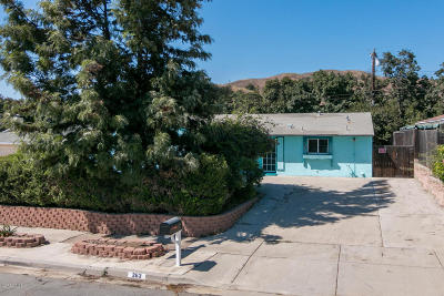 Ventura Single Family Home For Sale: 263 Spring Street