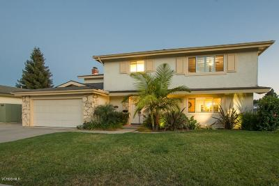 Camarillo Single Family Home For Sale: 1550 Habra Court